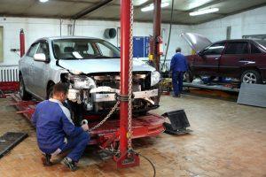 Кузовной ремонт автомобиля Fiat
