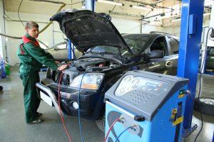 Заправка автомобильных кондиционеров Fiat